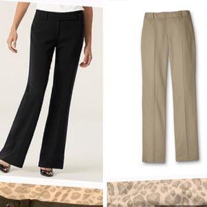 2 pairs dress pants